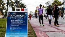 Miami Beach evalúa implementar un toque de queda para el fin de semana de Memorial Day