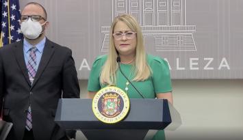 Gobernadora anuncia orden ejecutiva contra el coronavirus en Puerto Rico