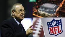 ¡Nuevo proyecto! Florentino quiere juegos de NFL en el Bernabéu