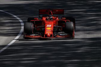 Los Ferrari se pusieron a punto en las prácticas libres del Gran Premio de Canadá