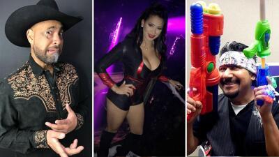 El Bueno, La Mala y El Feo recuerdan sus mejores disfraces de 'Halloween'