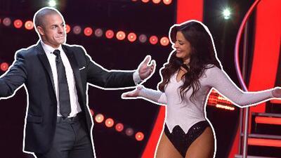 El momento en que Dayanara y Casper Smart bailaron al son de 'Tu amor me hace bien' de Marc Anthony
