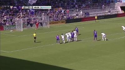 Nani perfora las redes desde el manchón penal y Orlando City remonta el marcador