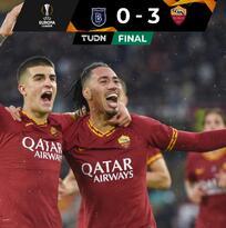 Con gran actuación de Kluivert, la Roma goleó y revivió en Europa League