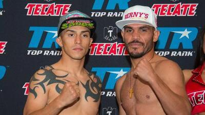 Ray Beltrán e Iván Nájera listos para 'Solo Boxeo Tecate'