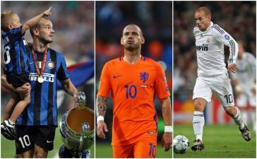 ¡Cuelga los botines! Wesley Sneijder, multicampeón holandés, se retira del fútbol