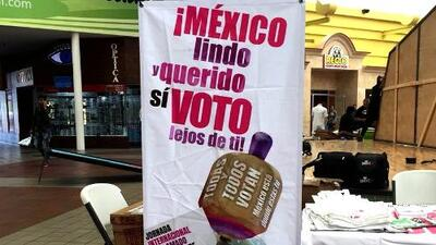 Instituto Electoral de México recibe por correo los primeros votos emitidos desde el extranjero