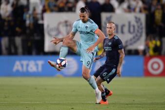 En fotos: sobre la hora LA Galaxy le quitó su invicto al Houston Dynamo