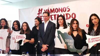 Vámonos respetando: la campaña con la que rostros famosos buscan combatir la violencia hacia la mujer