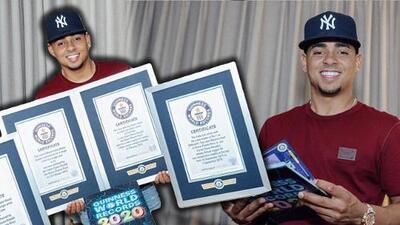 Ozuna no se dejó abrumar por las controversias y aquí está el resultado: impuso 4 récords Guinness