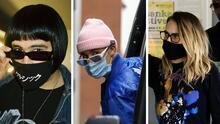 ¿Quiénes están tras las máscaras? El coronavirus obliga a los famosos a cubrir sus rostros para evitar contagios