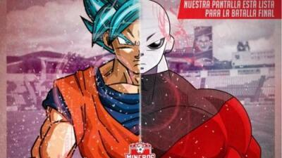 ¿Dragon Ball y los Mineros de Zacatecas juntos?