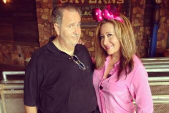 Raúl de Molina y Jessica Maldonado en Disney