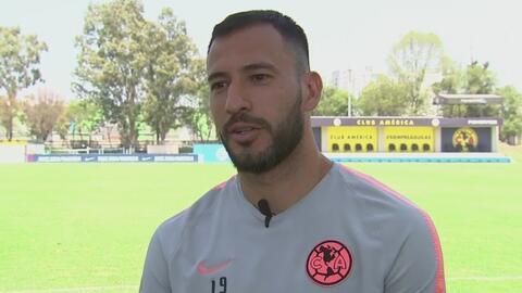 Emanuel Aguilera, convencido de que cada día la Liga MX le aporta más a los jugadores extranjeros