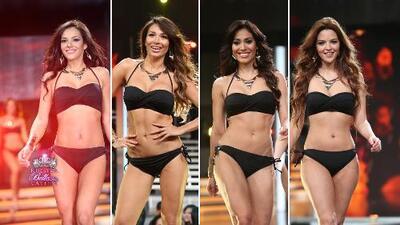 Las finalistas de Nuestra Belleza Latina 2015