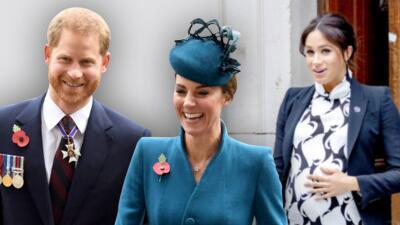 El príncipe Harry sale con Kate Middleton mientras Meghan Markle espera la llegada de su bebé