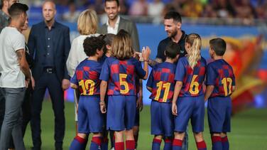 Lionel Messi se pierde el inicio de la Champions League