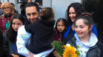ICE libera al inmigrante que fue detenido en California cuando llevaba a su hija a la guardería
