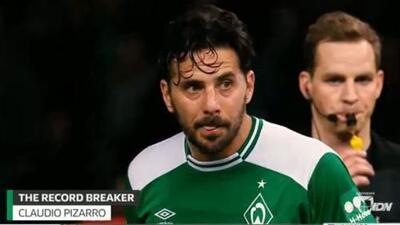 Claudio Pizarro: el 'Bombardero' de los andes y su récord en la Bundesliga