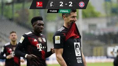 Lewandowski anotó su gol 40 y empata a Gerd Müller