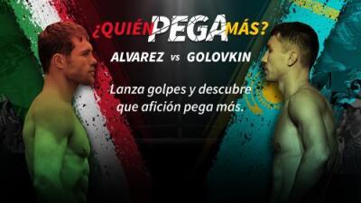 Cara a Cara entre 'Canelo' Álvarez vs Gennady Golovkin