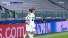 ¡GOOOL! Álvaro Morata anota para Juventus.
