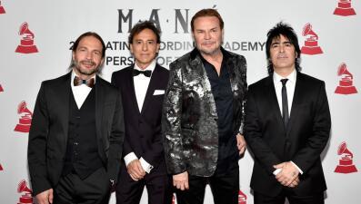 Lluvia de estrellas en la alfombra roja del homenaje a Maná como Persona del Año 2018 del Latin GRAMMY