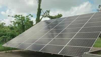 La devastación del huracán María abrió la puerta a que Puerto Rico le apostara a la energía solar