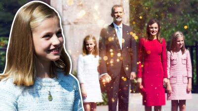 Leonor, la hija mayor de los reyes de España, debuta como princesa