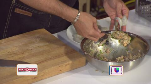 La receta: camarones rellenos de malanga y cangrejo