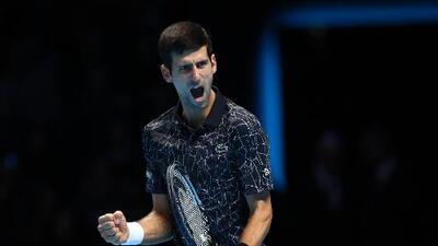 Djokovic cierra el año en lo más alto de la clasificación ATP