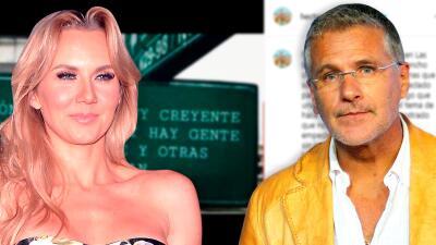 """Héctor Soberón ignora por qué Michelle Vieth sigue """"pegada con el tema"""" del video íntimo"""