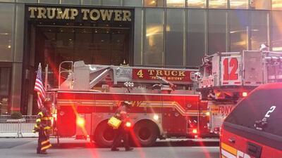 Se incendia un apartamento residencial en la Torre Trump de Nueva York