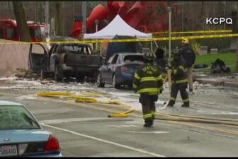 Fatal accidente de  helicóptero en Seattle