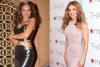 Thalía ayer y hoy