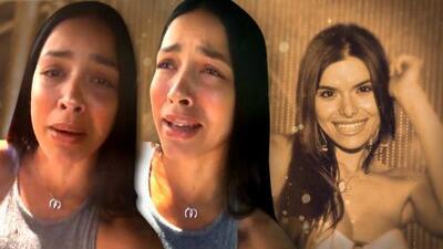 Entre lágrimas, Shalimar Rivera reacciona consternada por la muerte de la cantautora Gretchen Serrao