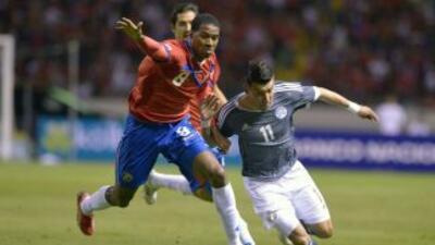 Costa Rica 0-0 Paraguay: Costa Rica y Paraguay no estuvieron finos