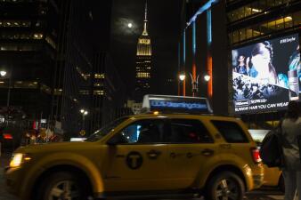 """Así se vio la """"luna de sangre"""" en NY"""