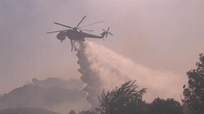 Emiten nuevas órdenes de evacuaciones en Murrieta por incendio que ha consumido casi 2,000 acres
