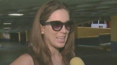 Jacqueline Bracamontes ya casi no puede caminar por su embarazo