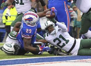 Las mejores imágenes del Jets vs. Bills