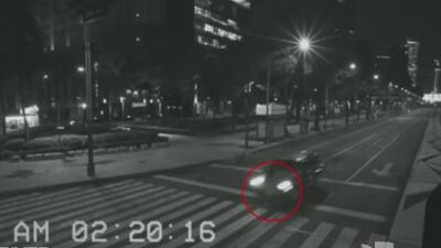 Aparición fantasmal en México quedó grabada en video