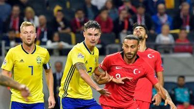 Turquía vs. Suecia en vivo, horario y como ver el partido de la Liga.