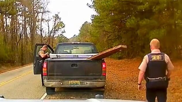 (Video) Impresionante captura de criminal en las carreteras de Alabama