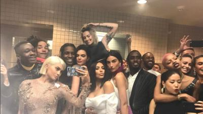 Lo que pasó en el baño del Met Gala 2017