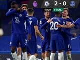 Chelsea derrotó a un Everton sin James Rodríguez en la Premier