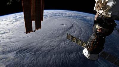 Así se ve desde el espacio el peligroso huracán Lane que amenaza a Hawaii
