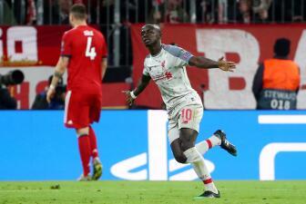 Sadio Mane le da la llave de los Cuartos de Final de la Champions League al Liverpool