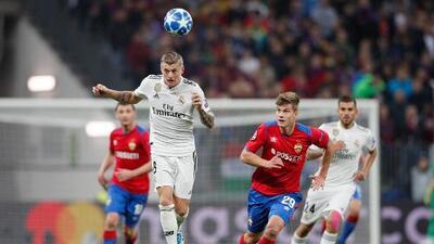 Cómo ver Real Madrid vs. CSKA de Moscú en vivo, Champions League
