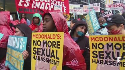 McDonalds facing charges of sexual harassment for the 3rd time in 3 years